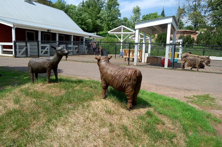 Memorial for the Barn Animals, Lake Superior Zoo