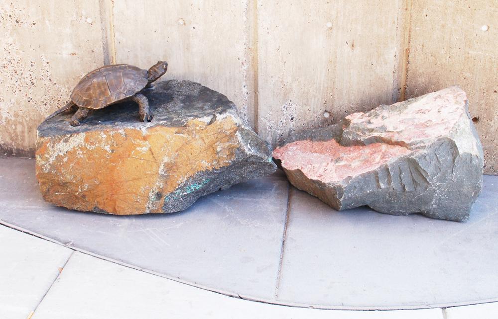 Estuary Plaza, Turtle Rocks