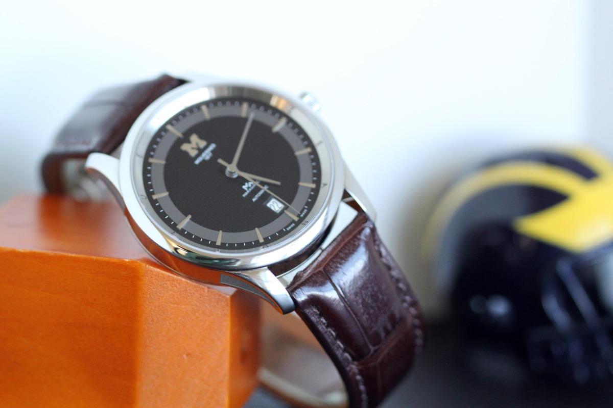 Dark Brown Matte (alligator leather)