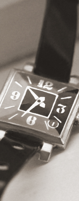 Shashi's first watch, a gift from his grandfather