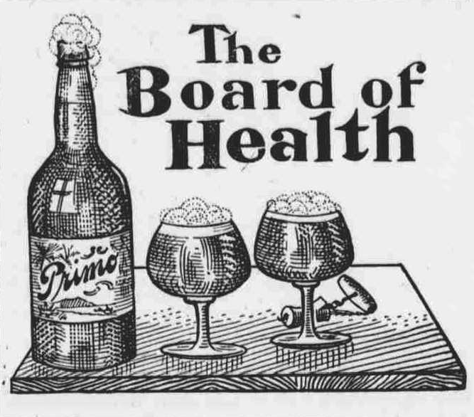 Primo Beer Ad 1904