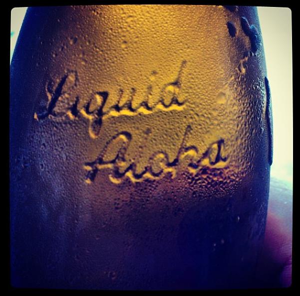 Fire Rock Paie Ale bottle