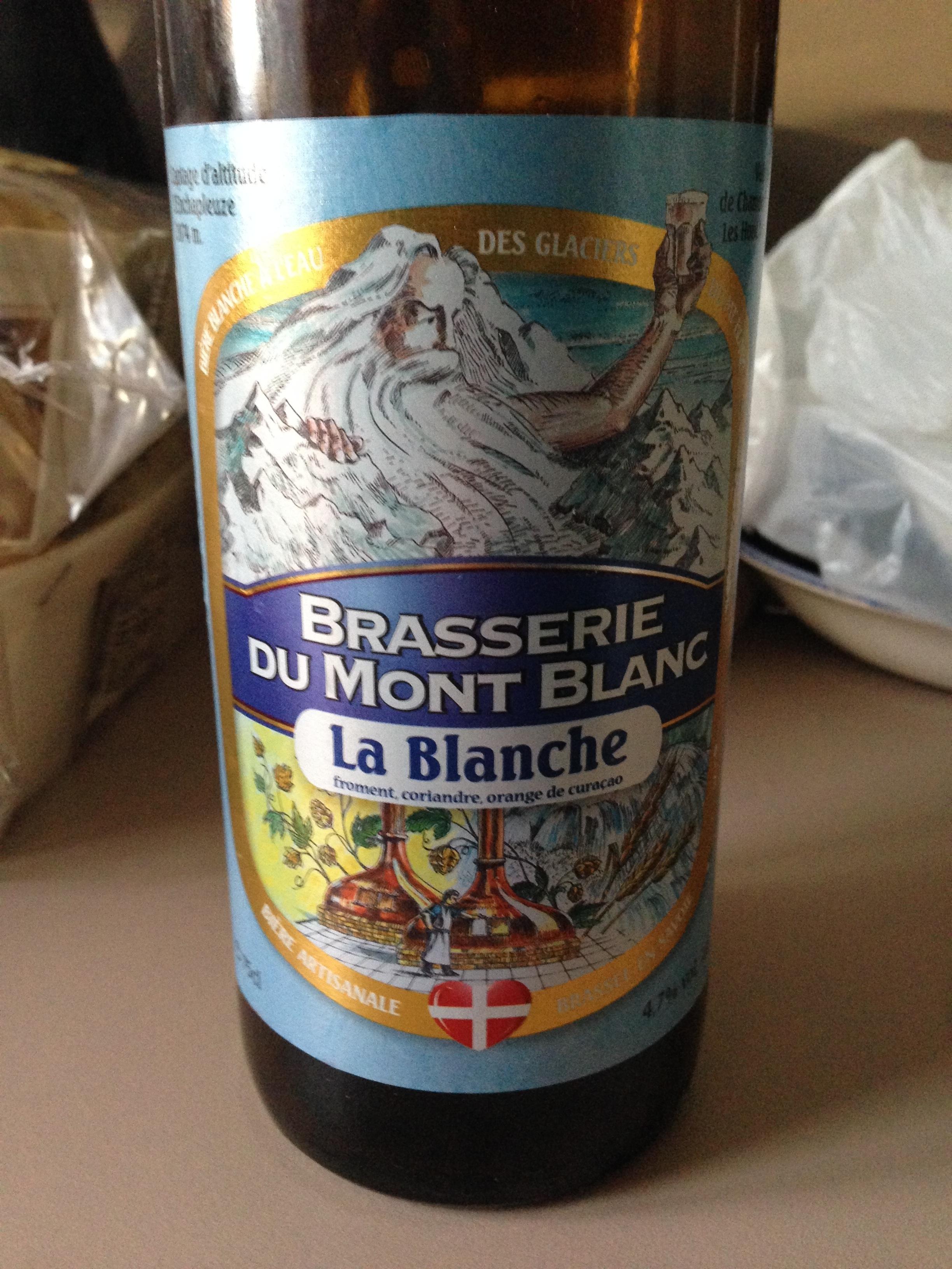 Brasserie Mont Blanc La Blanche