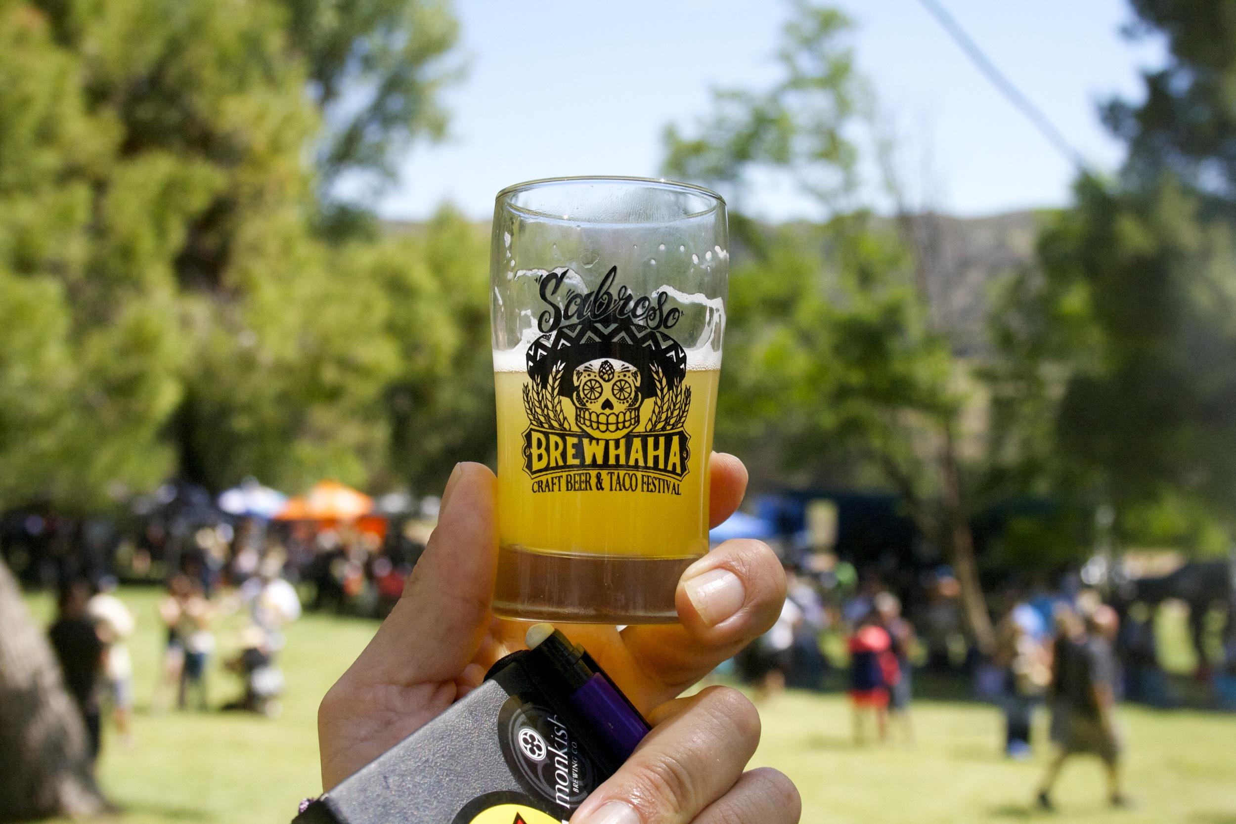 Requisite festival glass shot
