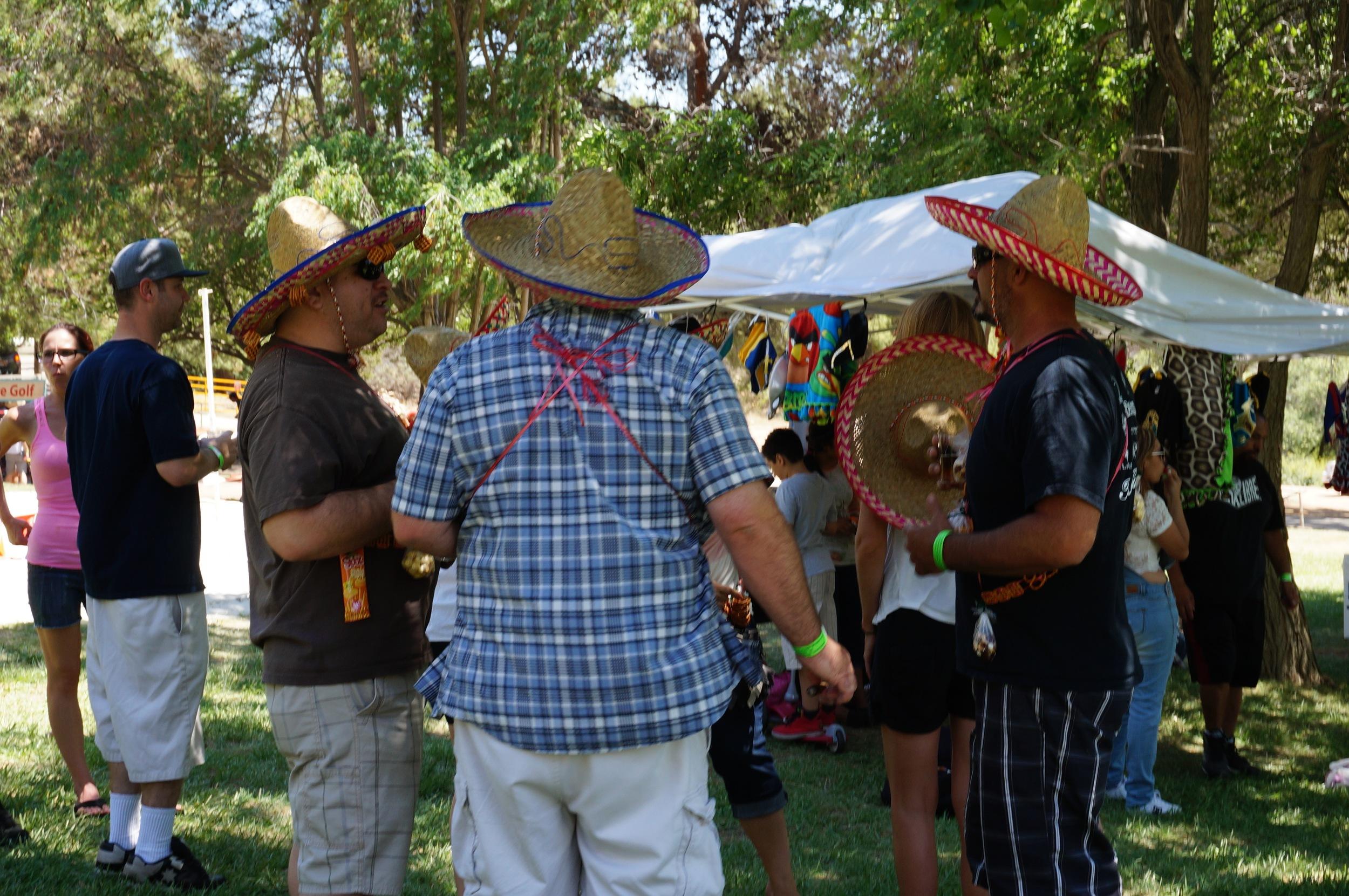 Sombreros werede rigueur