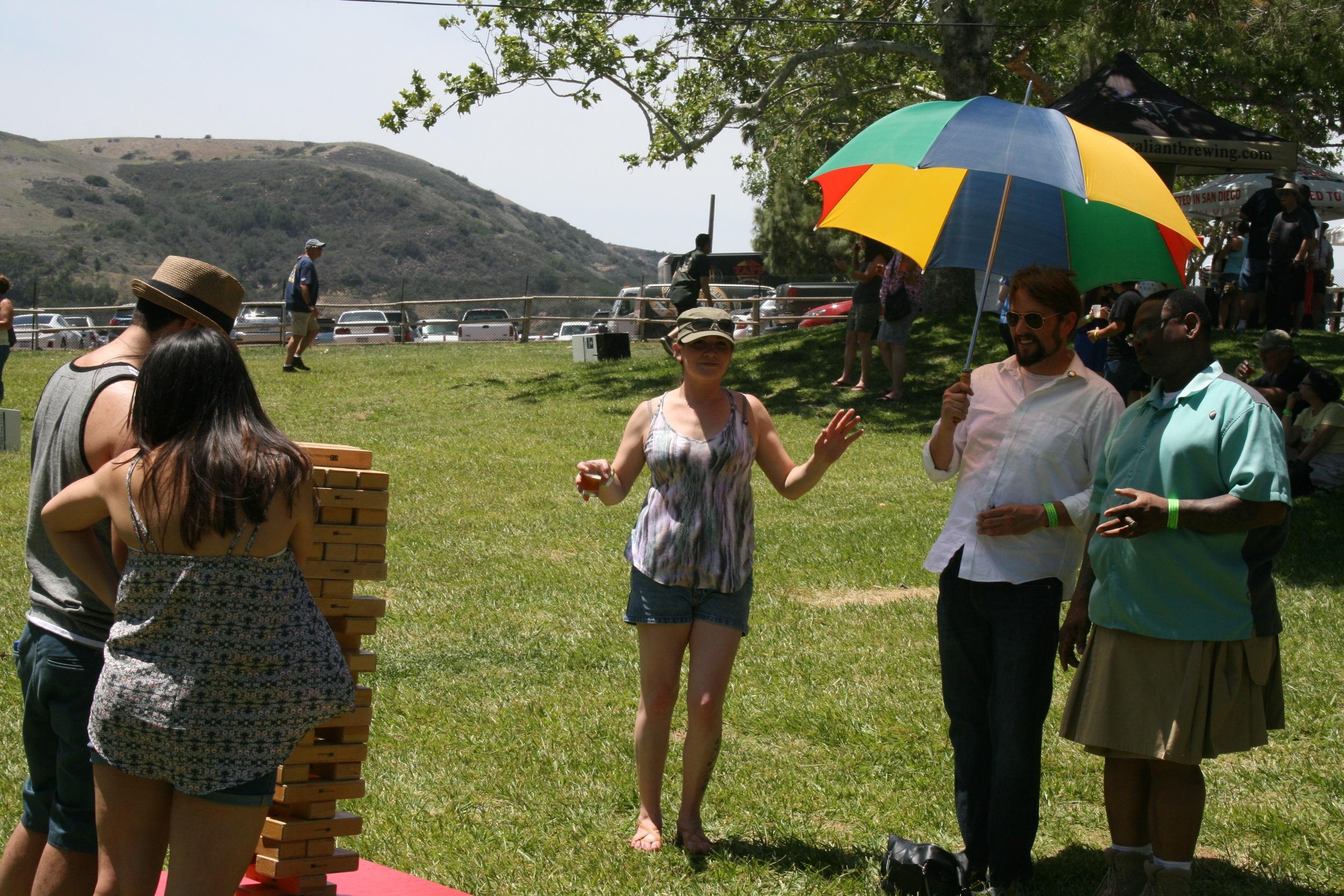 Jenga, kilts, and more dancing
