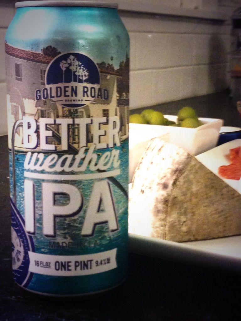 """Golden Road """"Better Weather IPA"""