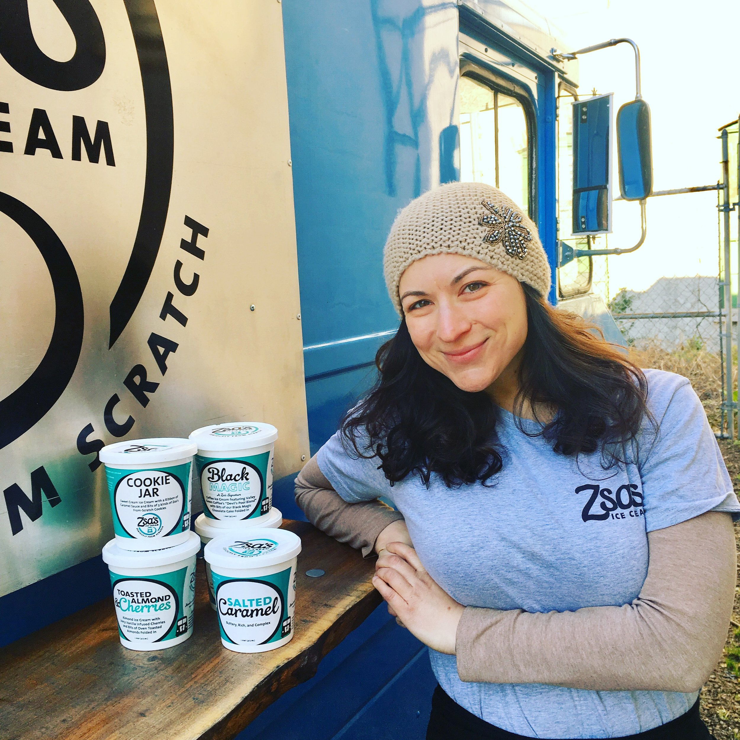 Zsa's Ice Cream - Joined April 2017Received a $12,000 loan for labeling and packaging.Zsa's is owned by Danielle Jowdy, and is known for producing