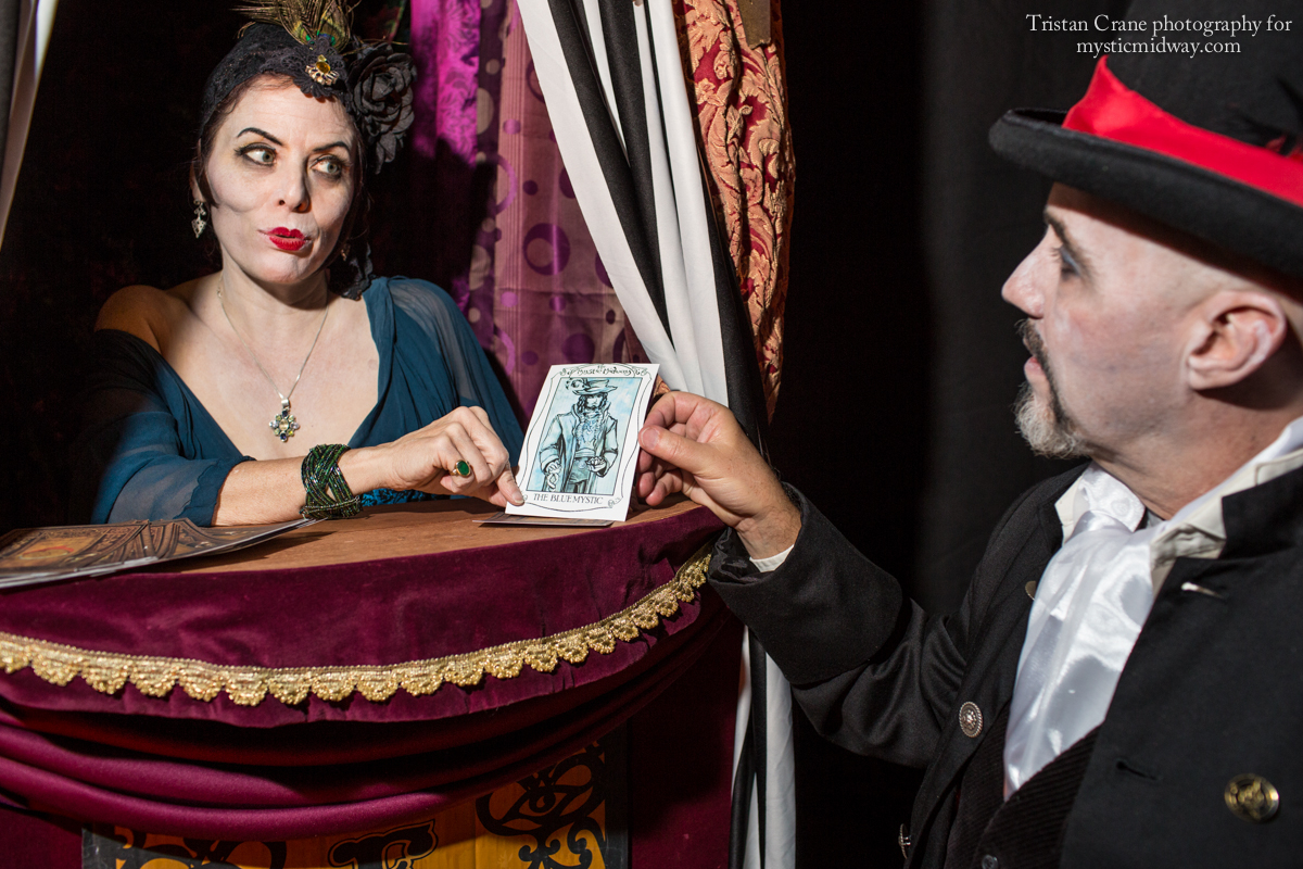 Lady Fortuna reveals the fate that lies within the cards.
