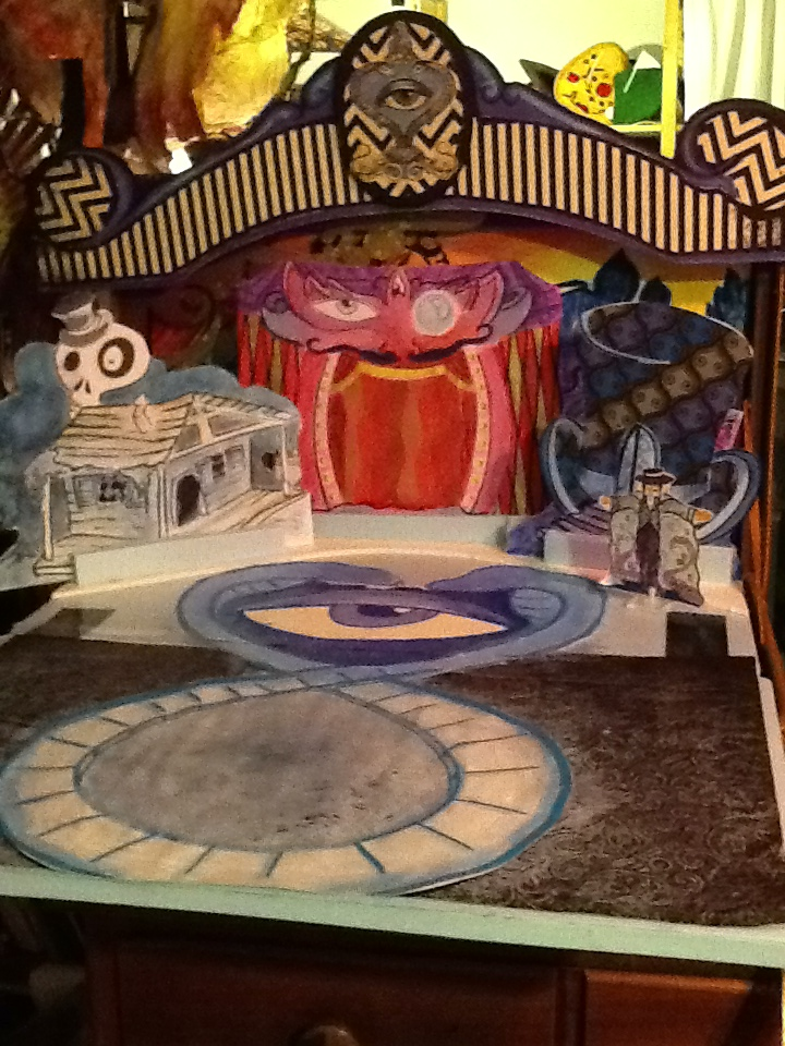 A miniature version of the Mystic Midway, within the Mystic Midway.