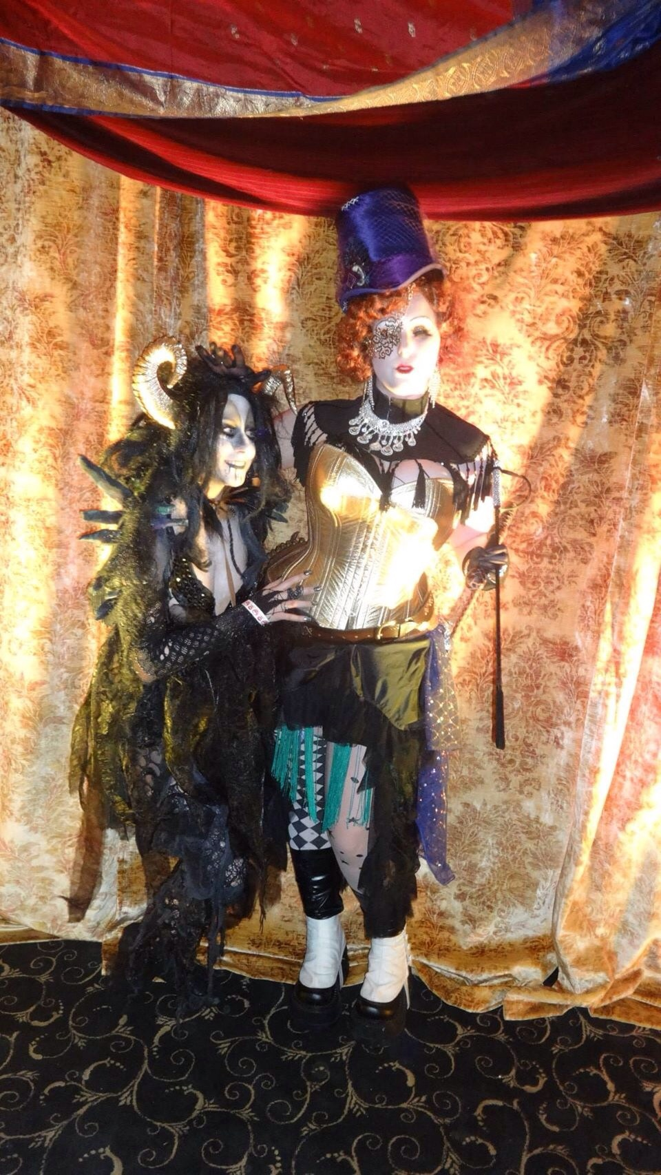 Strange denizens of the Midway appeared, like The Ringmistress and her Sumatran She-Devil