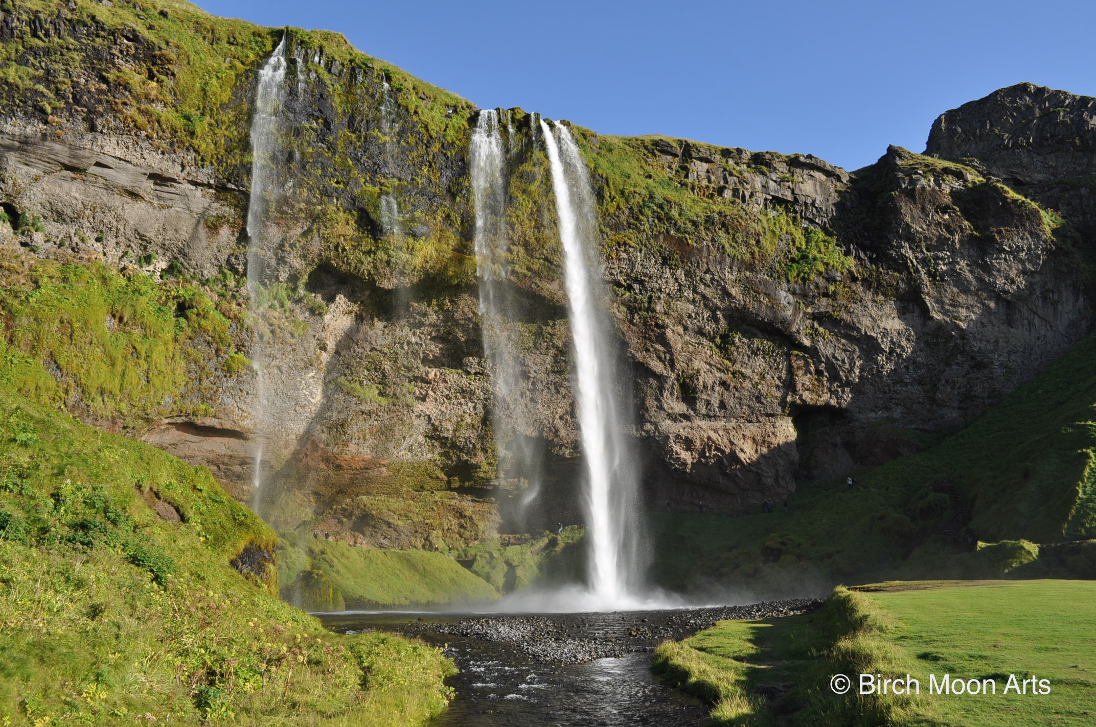 Seljalandsfoss Waterfall           Available for purchase on  Etsy .