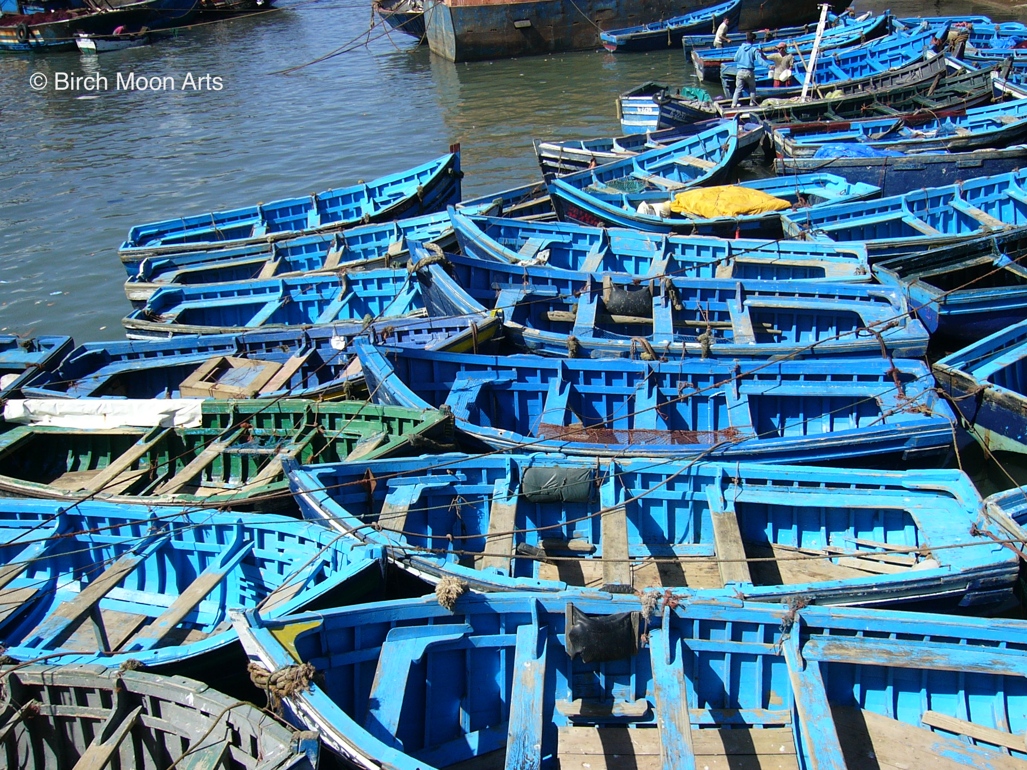 Fishing Dinghies,  Morocco     Available for purchase on  Etsy .