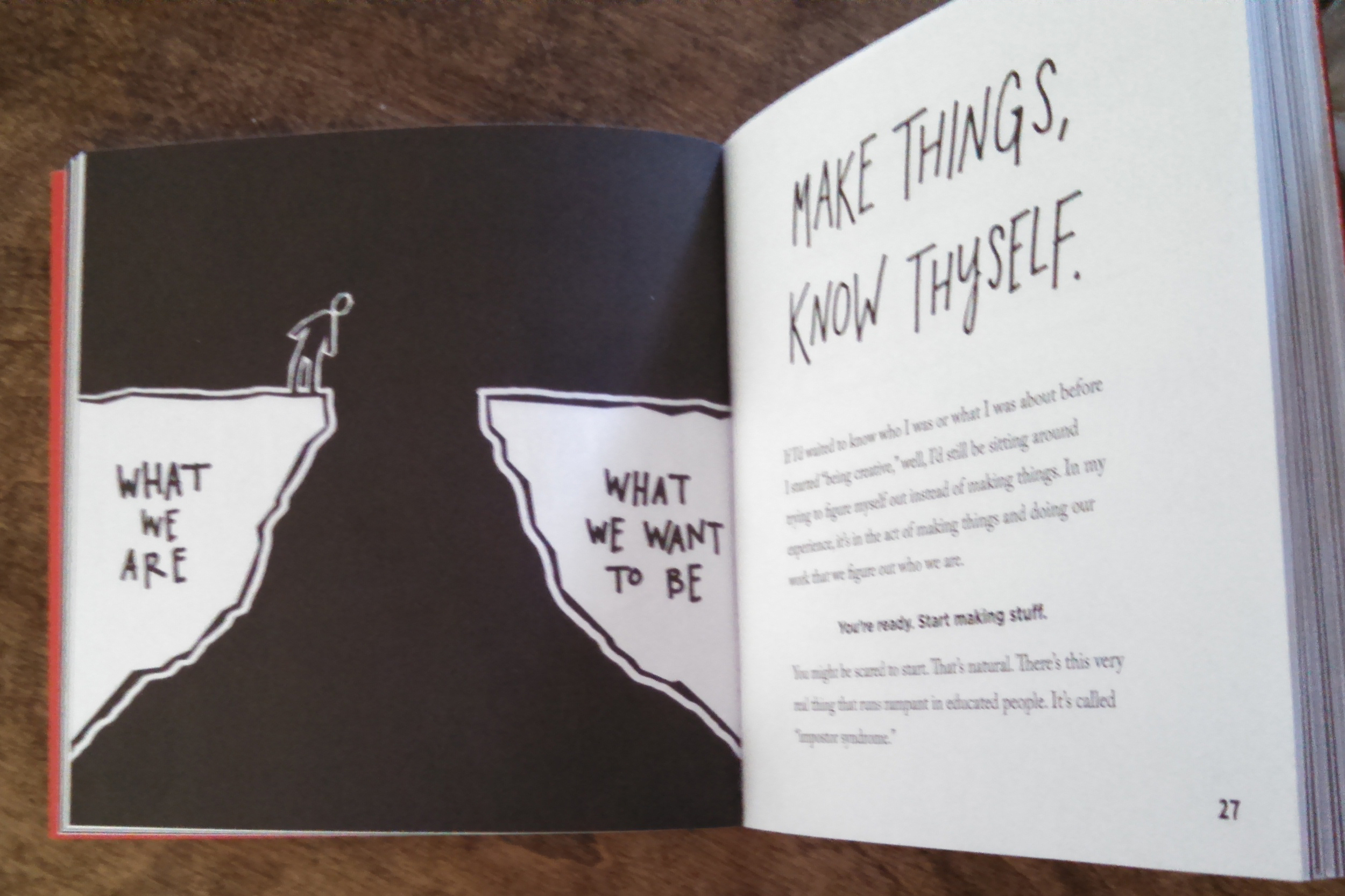 """A writer who draws"" - Austin Kleon"