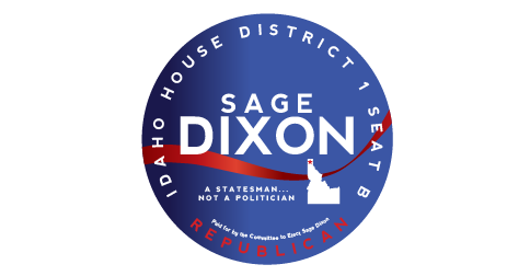 Campaign Sticker -  Smalltown Design