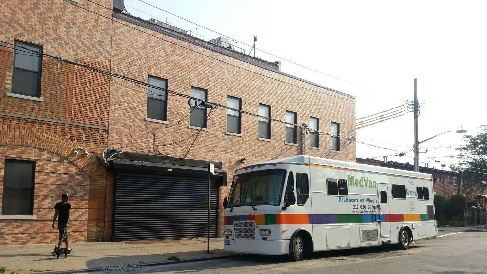 van in front of blake shelter.jpg