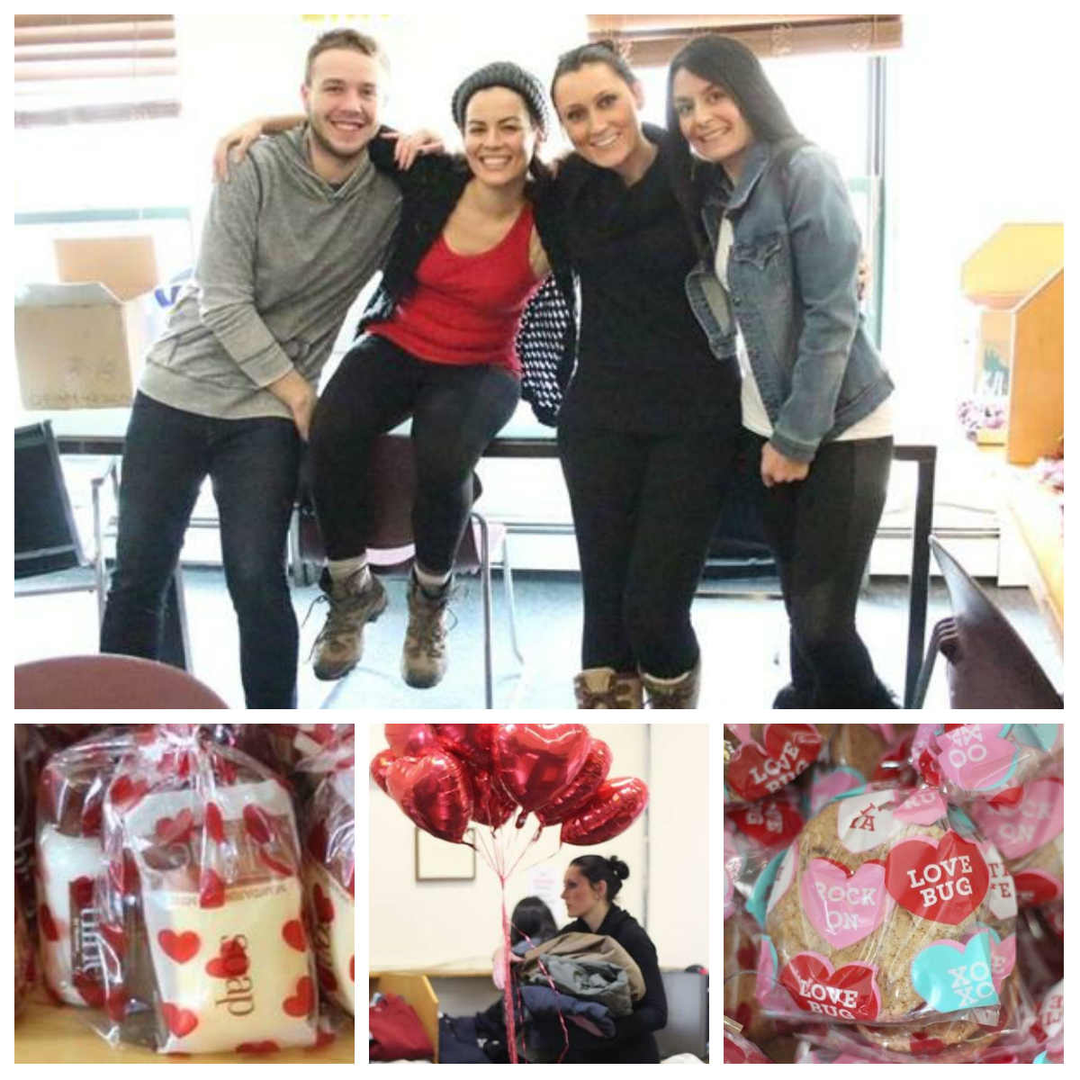 Top photo from right to left:  Bryce Breedyk,Tania Santiago,Katarzyna   Domagala, Heather   Parisi     D'Andrade