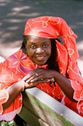 The Afrikana Madonna, also known as Barbara Bethea