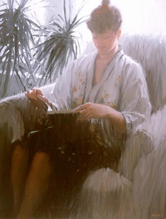 Jeune Femme Lisant (Young Woman Reading)