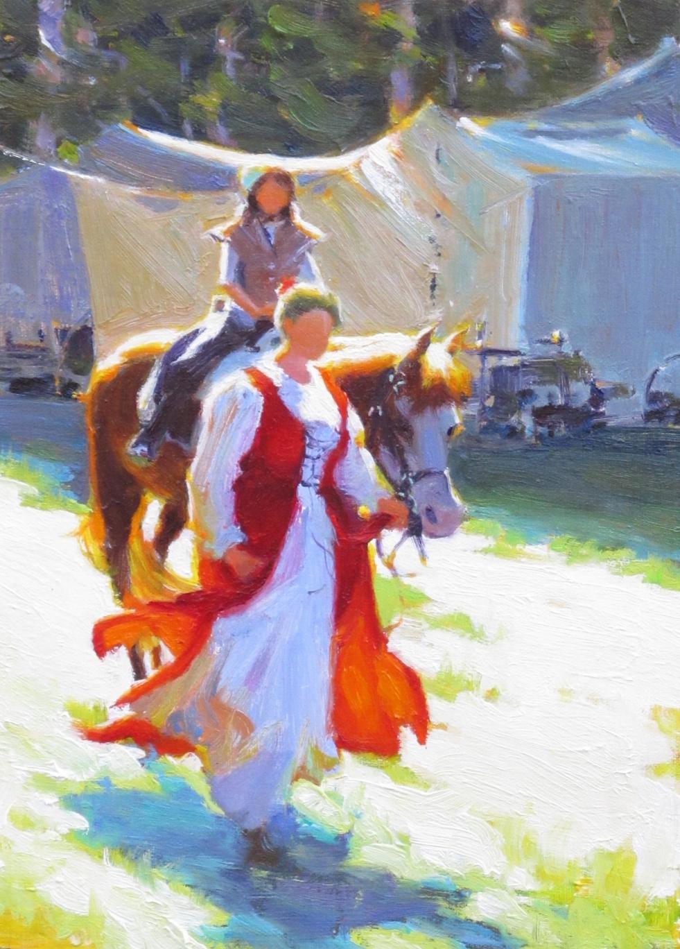 Renaissance Faire Equestrian