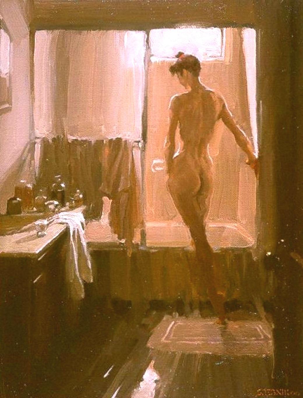 Her Morning Bath