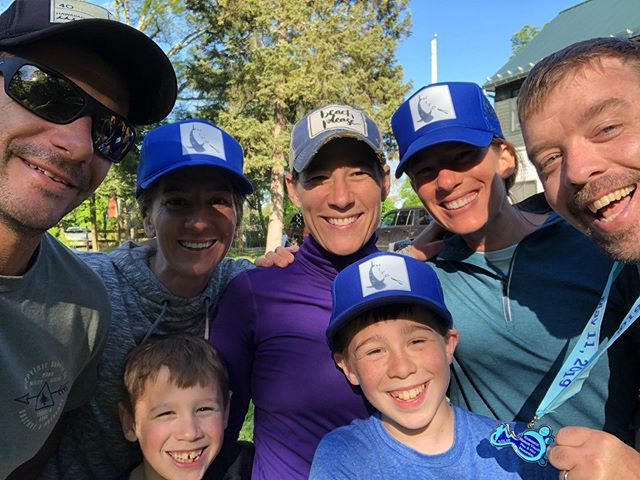 Thanks for joining me and my fam for our annual Rhinebeck HV Full& Half Marathon!! We love putting it on each year. Now time for a little family soccer in the yard. #run #rhinebeck #halfmarathon #marathon #hudsonvalley #familyfun