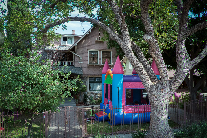 Bouncy Castle at Van Buren Place