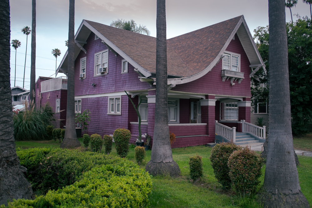 Typical West Adams Craftsman