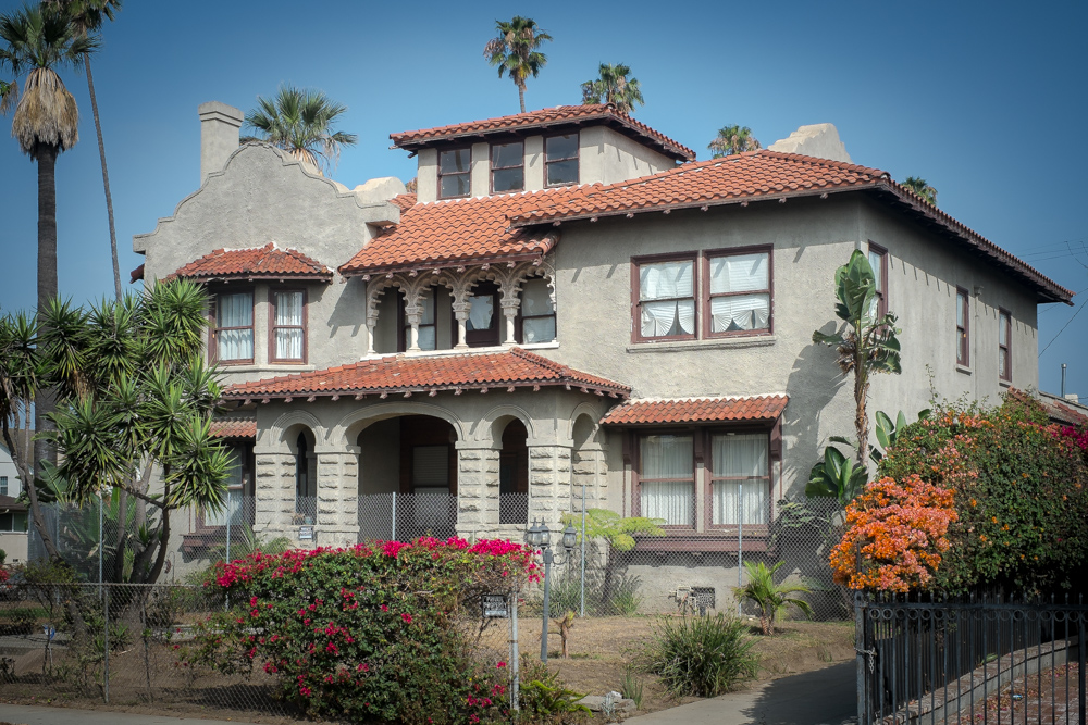 1905 Mission-Style Home