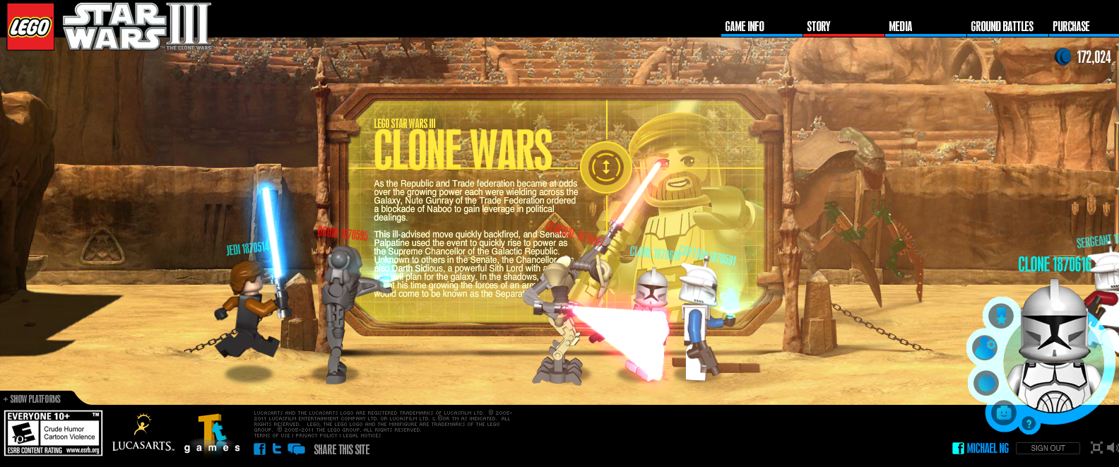 LucasArts.com   LEGO® Star Wars III  The Clone Wars3.png