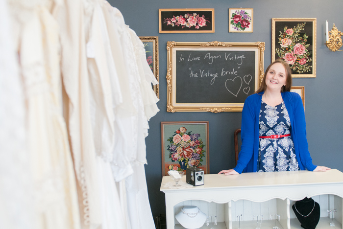 Rene from The Vintage Bride in Adelaide