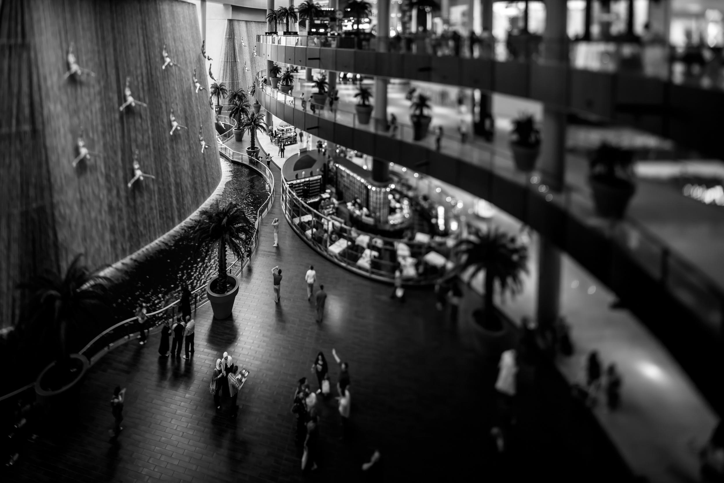 The Waterfall at the Dubai Mall (17mm TS-E