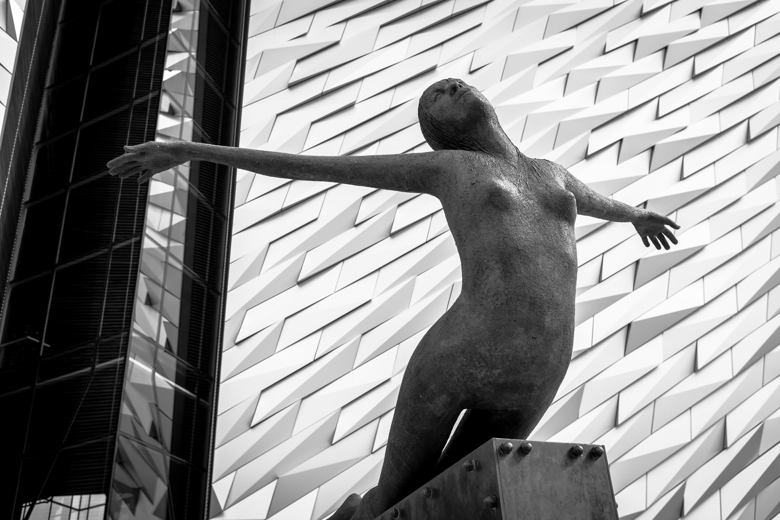 Neeeear.....Faaaaarrrr....wherever you.......Titanic Museum in Belfast