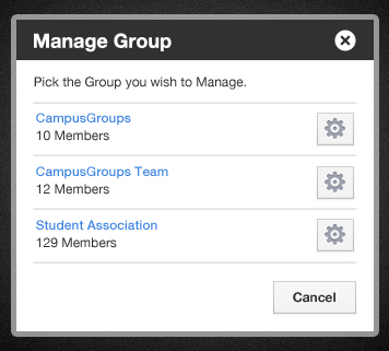 How to manage a group?