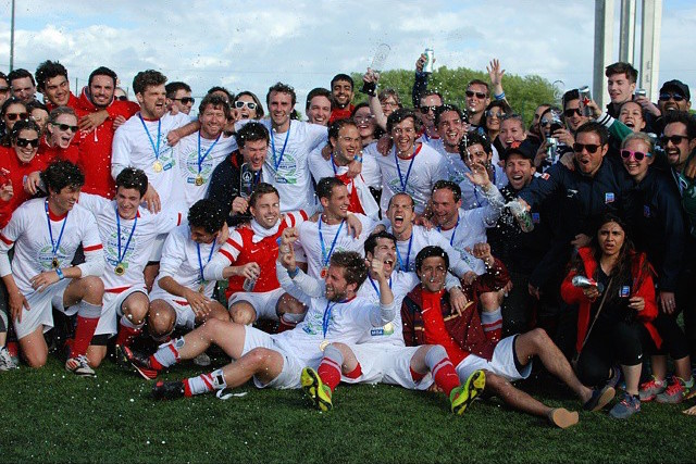 London Business School's Futbol Team, post-game