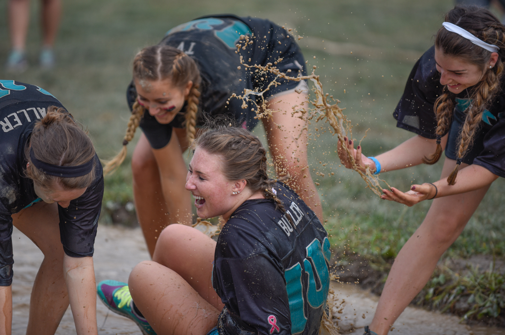 In addition to being a lot of fun, the MudTug raises thousands of dollars for local charities.