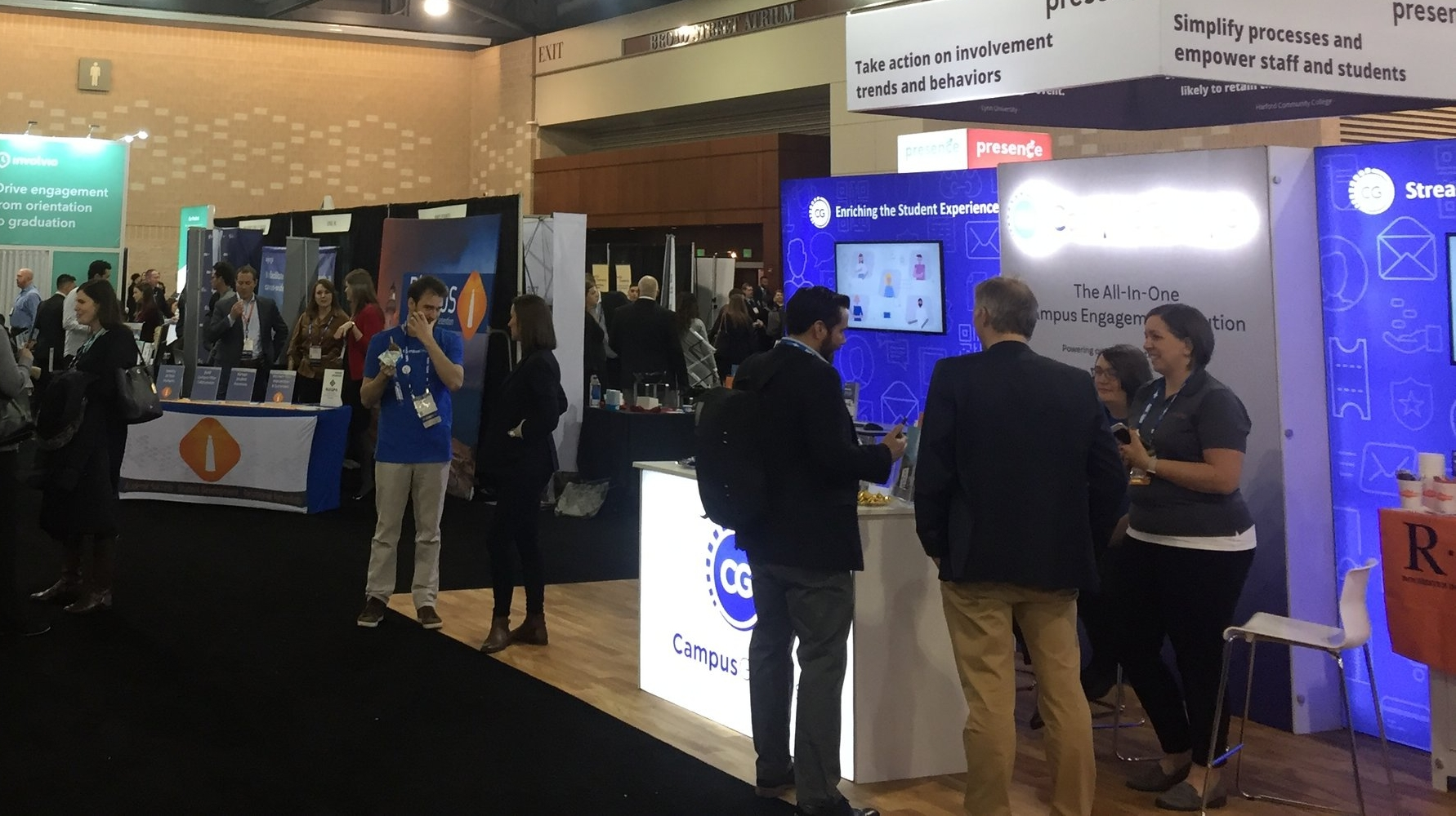 NASPA's vendor hall became a busy hub for conversations about student engagement. We were proud to be featured alongside so many outstanding companies working to improve higher education.
