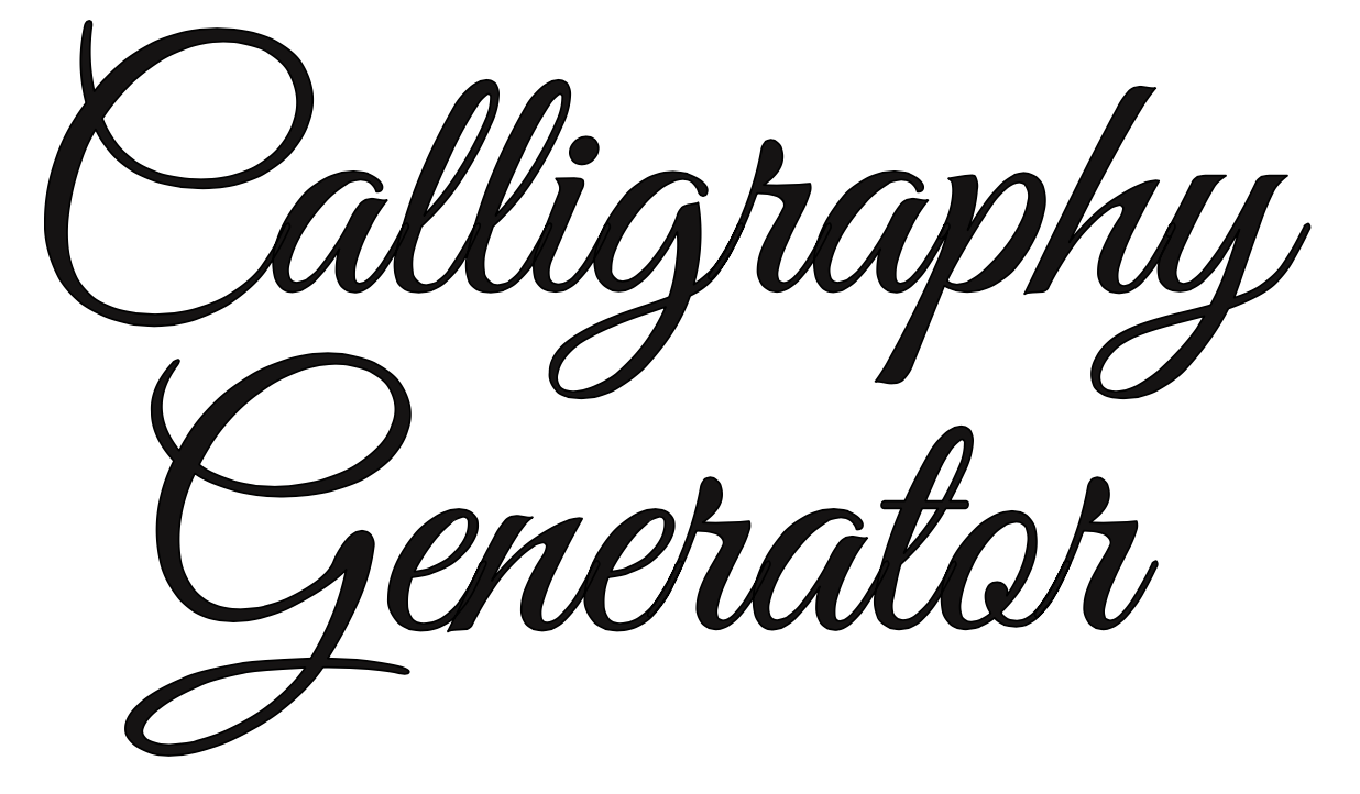 Free Online Calligraphy Generator (Windows, Mac, iPad) - Arts
