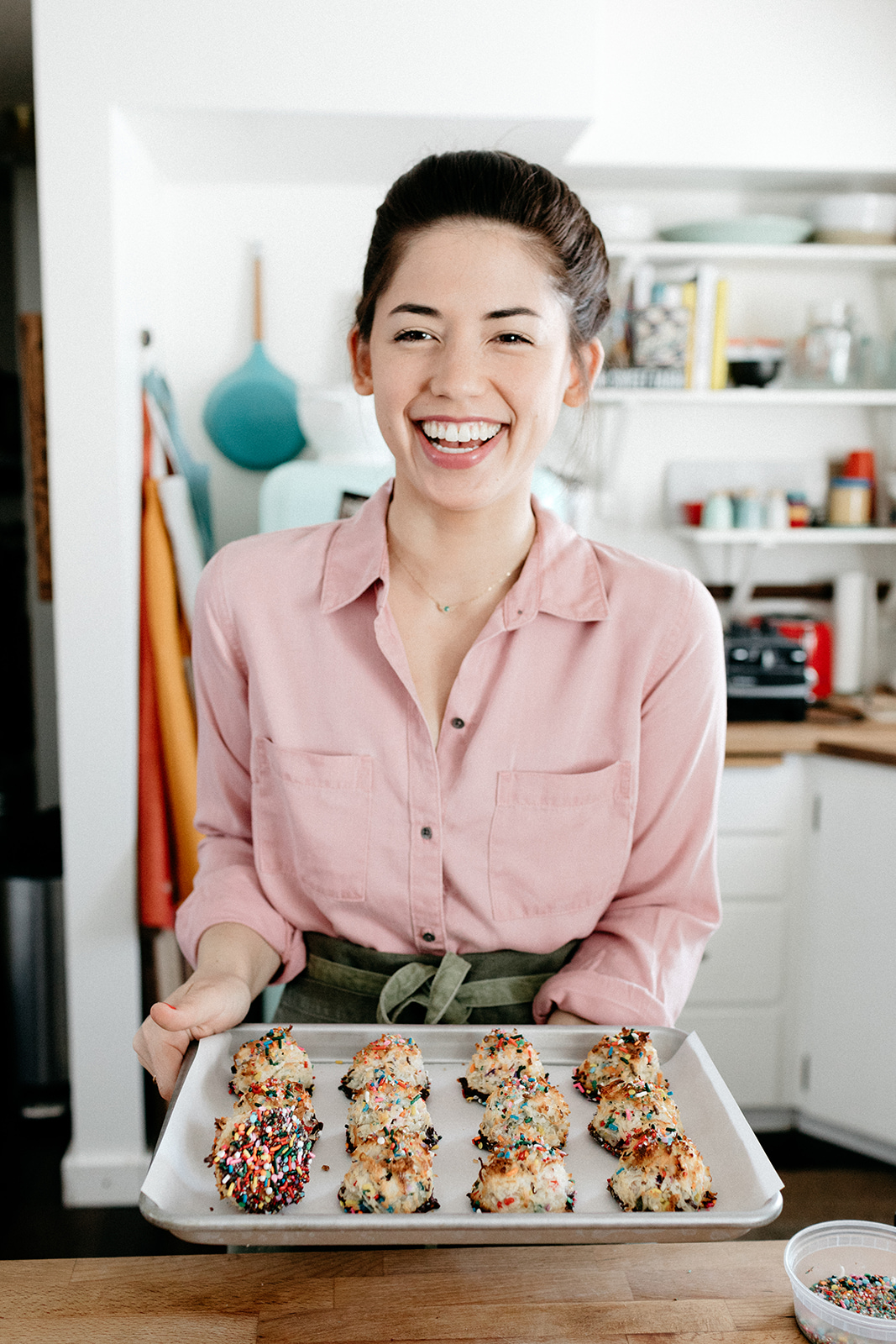 Sprinkle Macaroons Molly Yeh