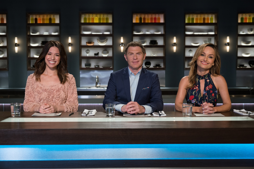 Guest Host Molly Yeh with Hosts Bobby Flay and Giada De Laurentiis.jpeg