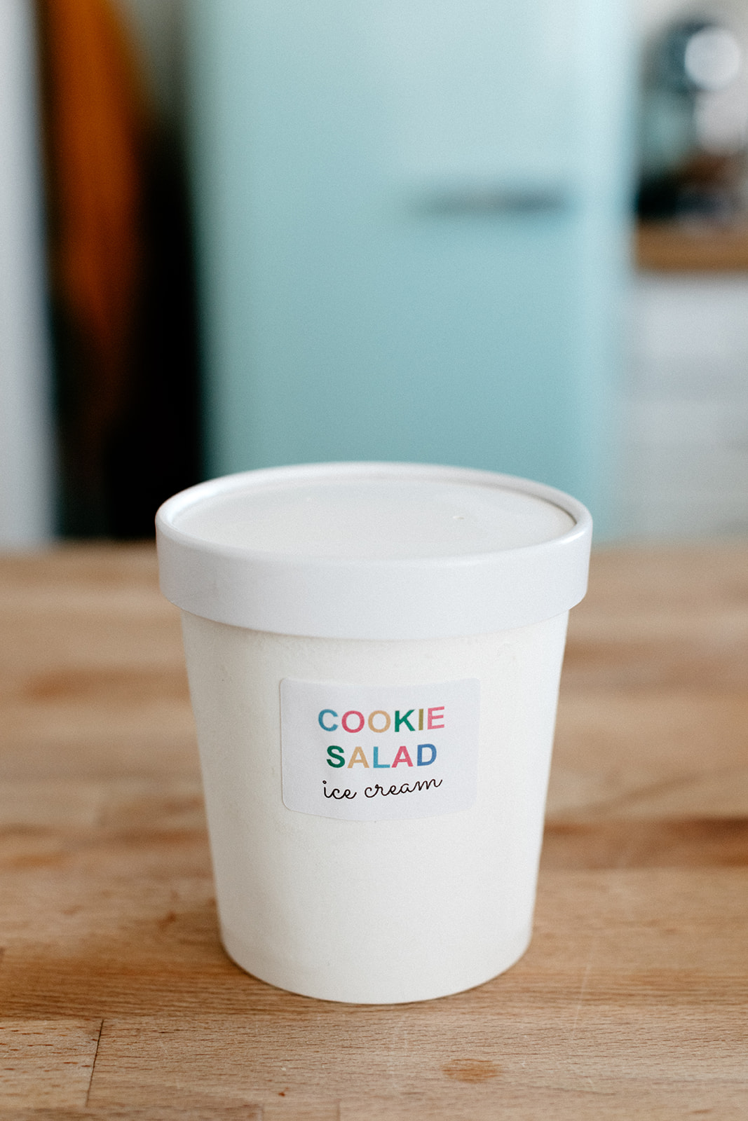 molly yeh's cookie salad ice cream