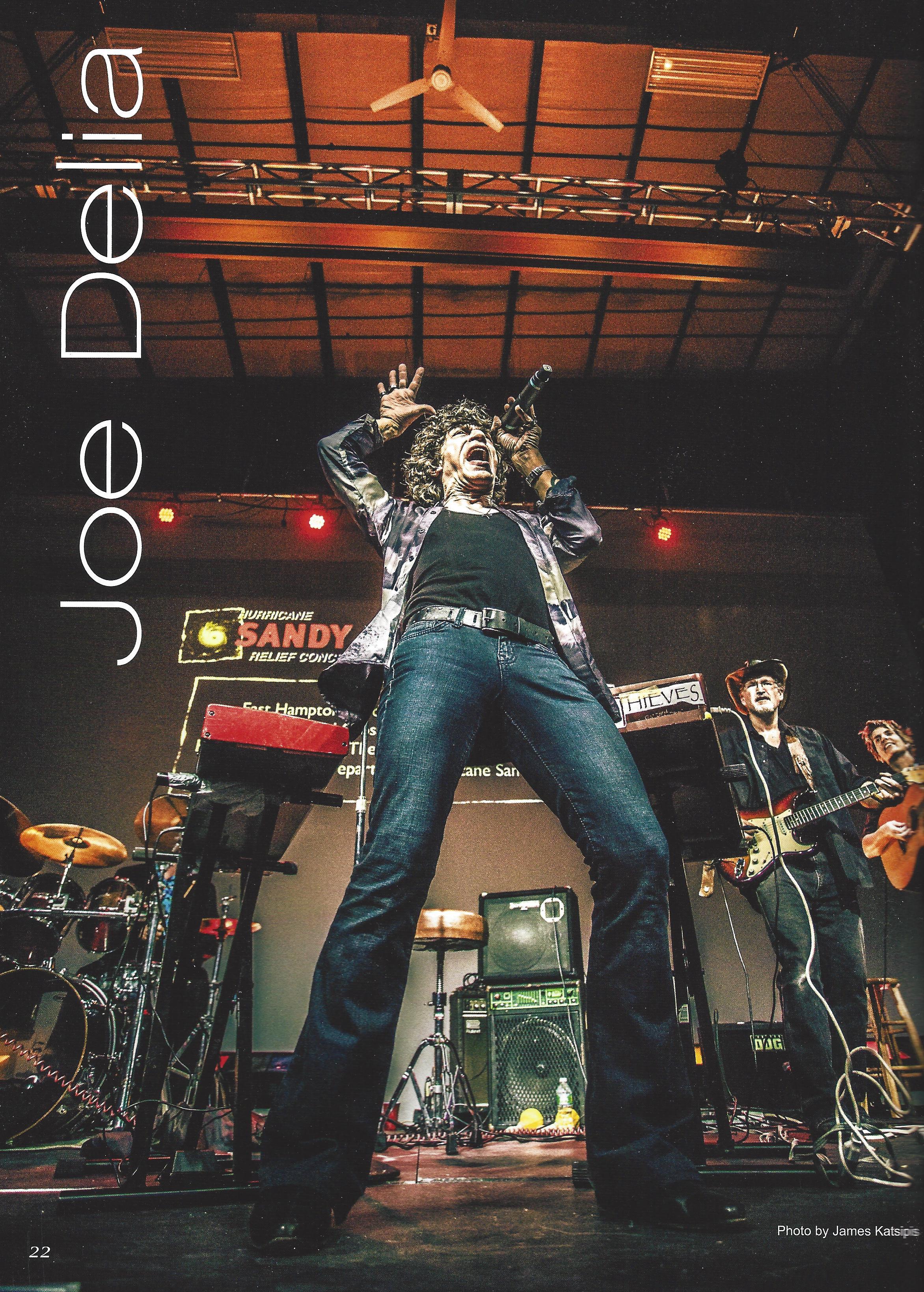 Hurricane Sandy Relief Benefit Concert.  Hook Magazine.