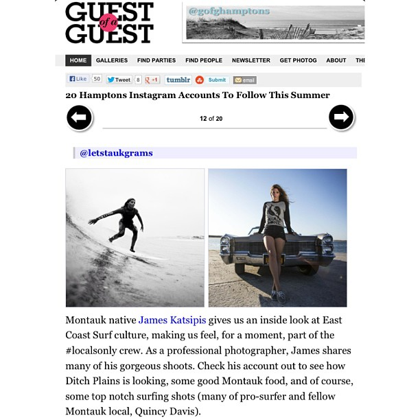 Top 20 Instagram Accounts to follow in The Hamptons