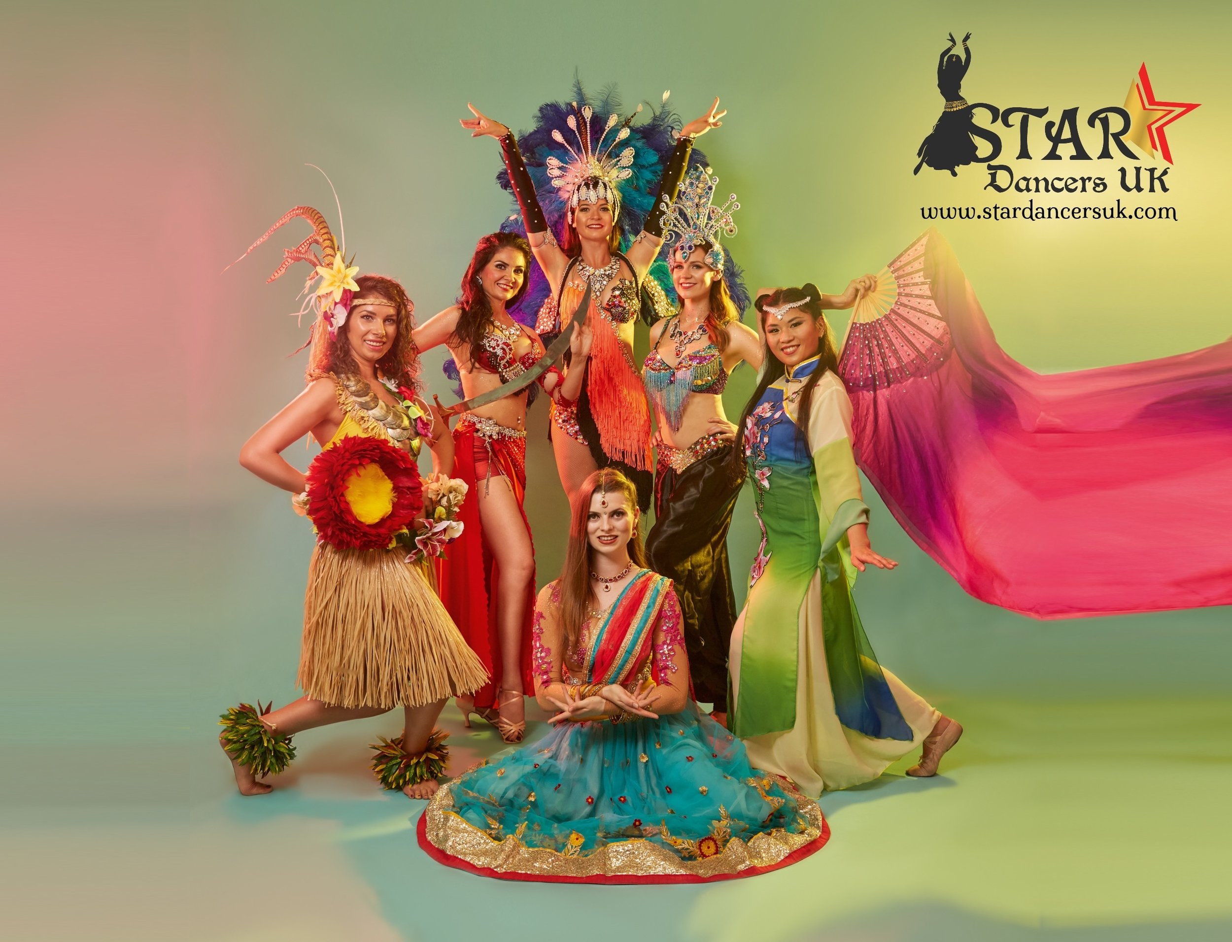 Due to the  unique talent and experience  within the Star Dancers UK team, we are able to create fusion performances for just about any combination of dance styles. So if your event involves a mixture of cultures, or you would just like to see something different, get in touch with us to see what our dance experts can do for you.
