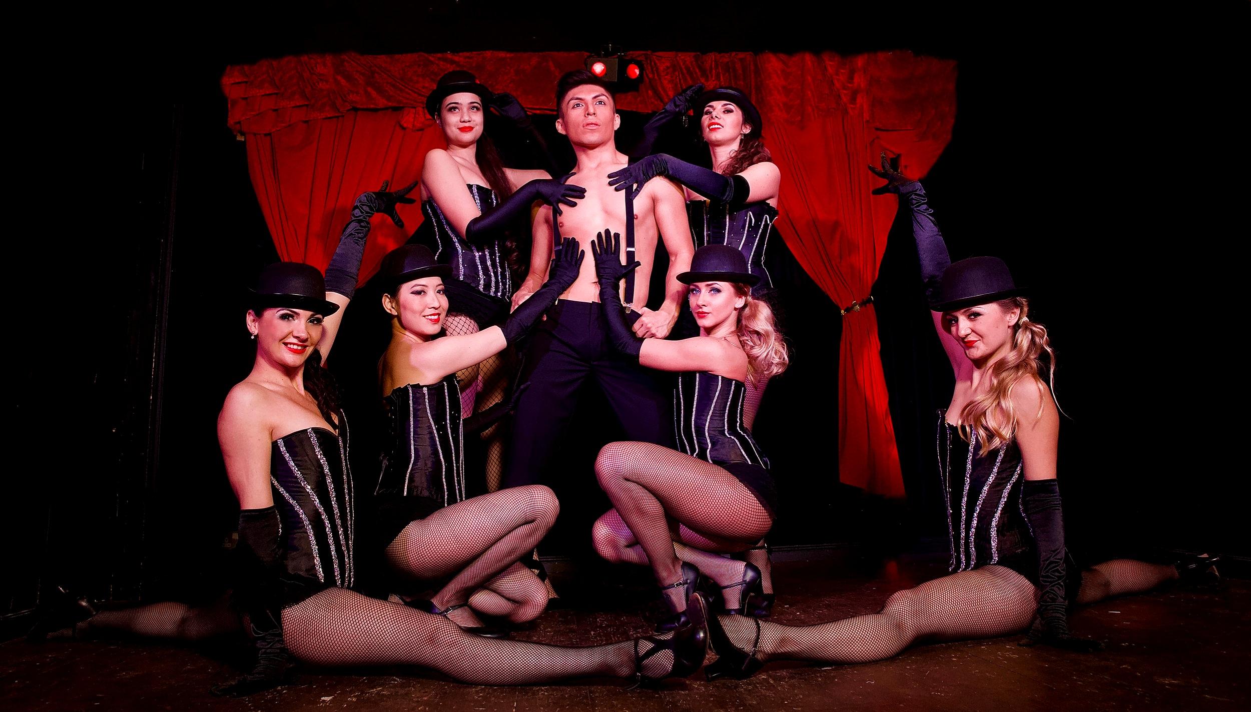 Hire Burlesque Cabaret Dancers — Star Dancers UK   Professional Dance Entertainment for Events