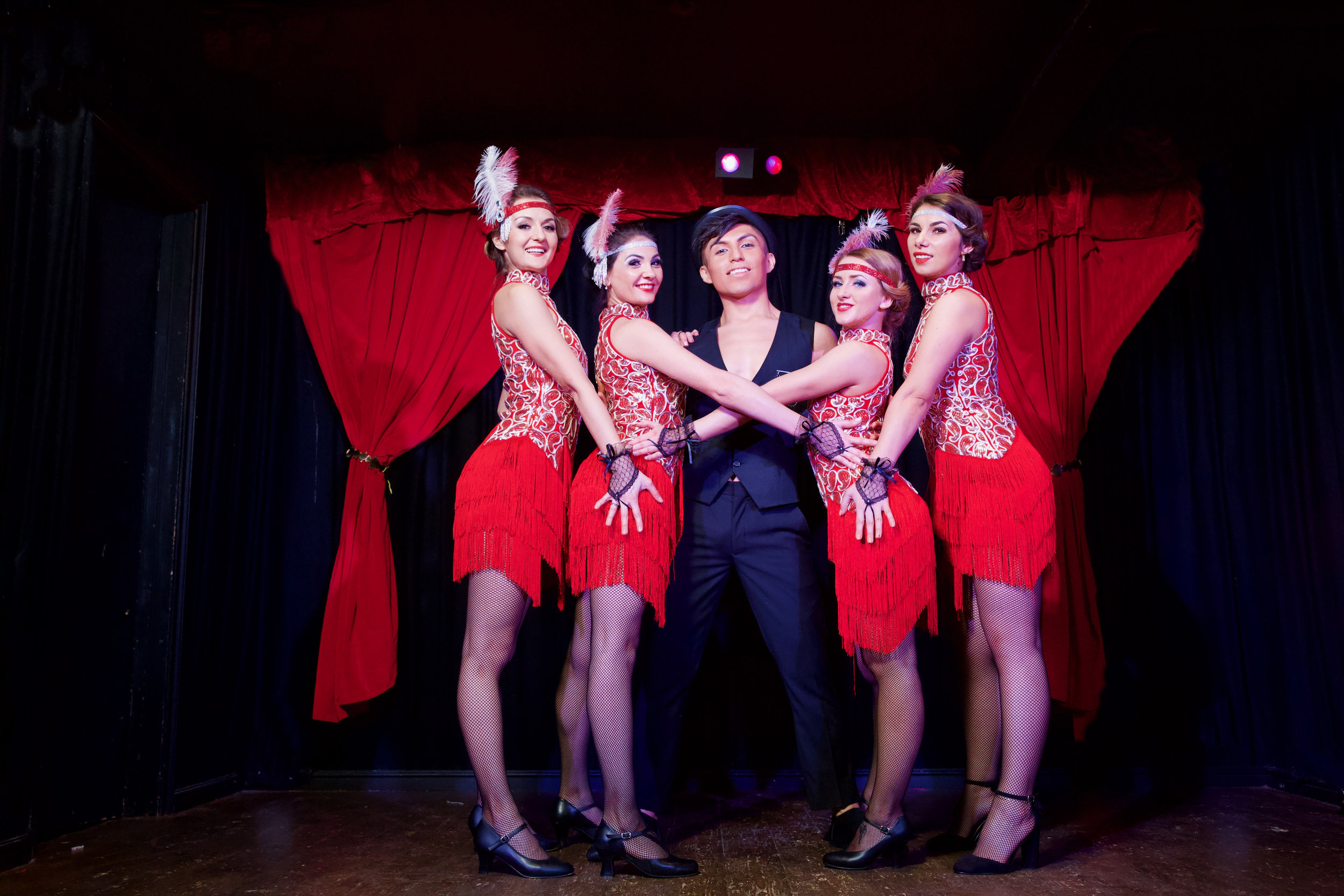 Take a step back to the  1920s/1930s  and let our  Charleston dancers  and flapper girls bring your Great Gatsby event theme to life. If you're looking for authentic and  fun flapper-style entertainment , hire our Great Gatsby dancers for your next event.