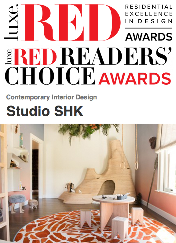 Luxe Interior + Design - Our safari-inspired bedroom is a contender for the Luxe RED Readers' Choice Awards. LINK: http://bit.ly/2mEb4nL