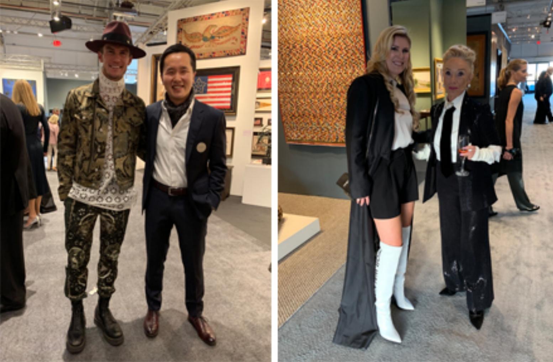 L-R: Interior Designer Sean Leffers, Enterprise for Youth Board Member Terrance Bei, Studio SHK's Sherry Hope-Kennedy and Realtor Malin Giddings