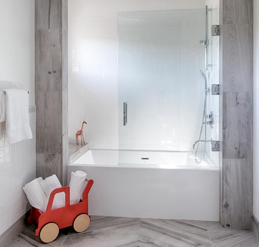 Modern Kid's Bath