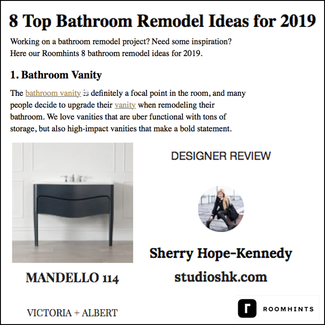Roomhints - Check out Sherry's selection of bathroom vanities.